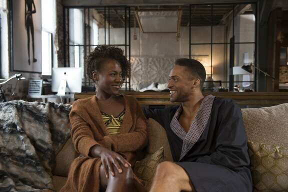"DeWanda Wise is Nola Darling and Cleo Anthony is Greer Childs in ""She's Gotta Have It"""