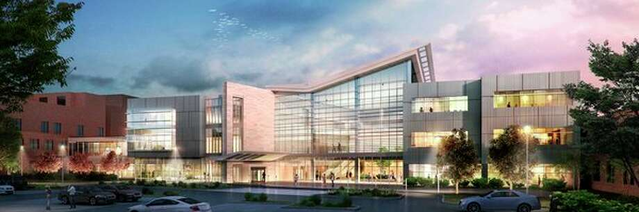 A rendering of the Heart and Vascular Center to be built the campus of MidMichigan Medical Center-Midland. (Image provided)