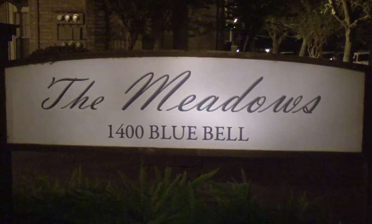 Two men were shot during an apparent robbery attempt outside a north Harris County apartment complex Monday night. Police said the two men were walking to their mailboxes at the Meadows on Blue Bell apartments around 8:45 p.m. when they were approached by two other men with guns.