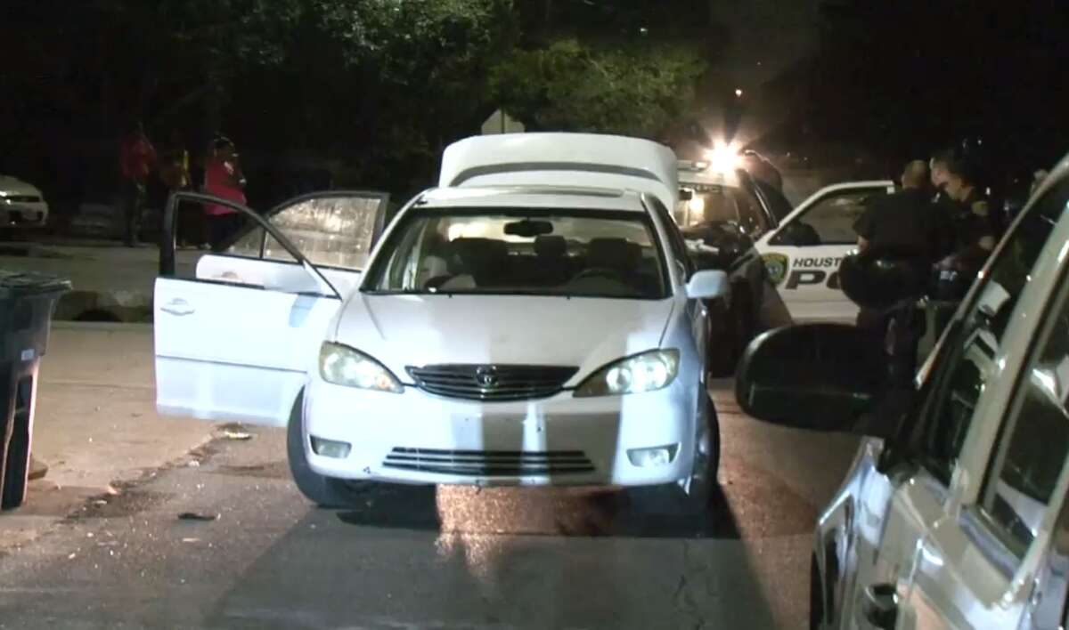 A man who led Houston Police on a brief car chase and then struggle Monday night was charged for possession of a controlled substance and resisting arrest.Police say they pulled over the driver after running his car's temporary license plates and finding the registration was expired.