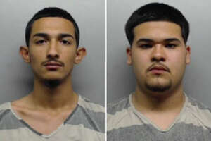 Alexander Brandon Lopez, 19, and Marco Antonio Fuentes, 19, were each charged with possession of marijuana and possession of a controlled substance.