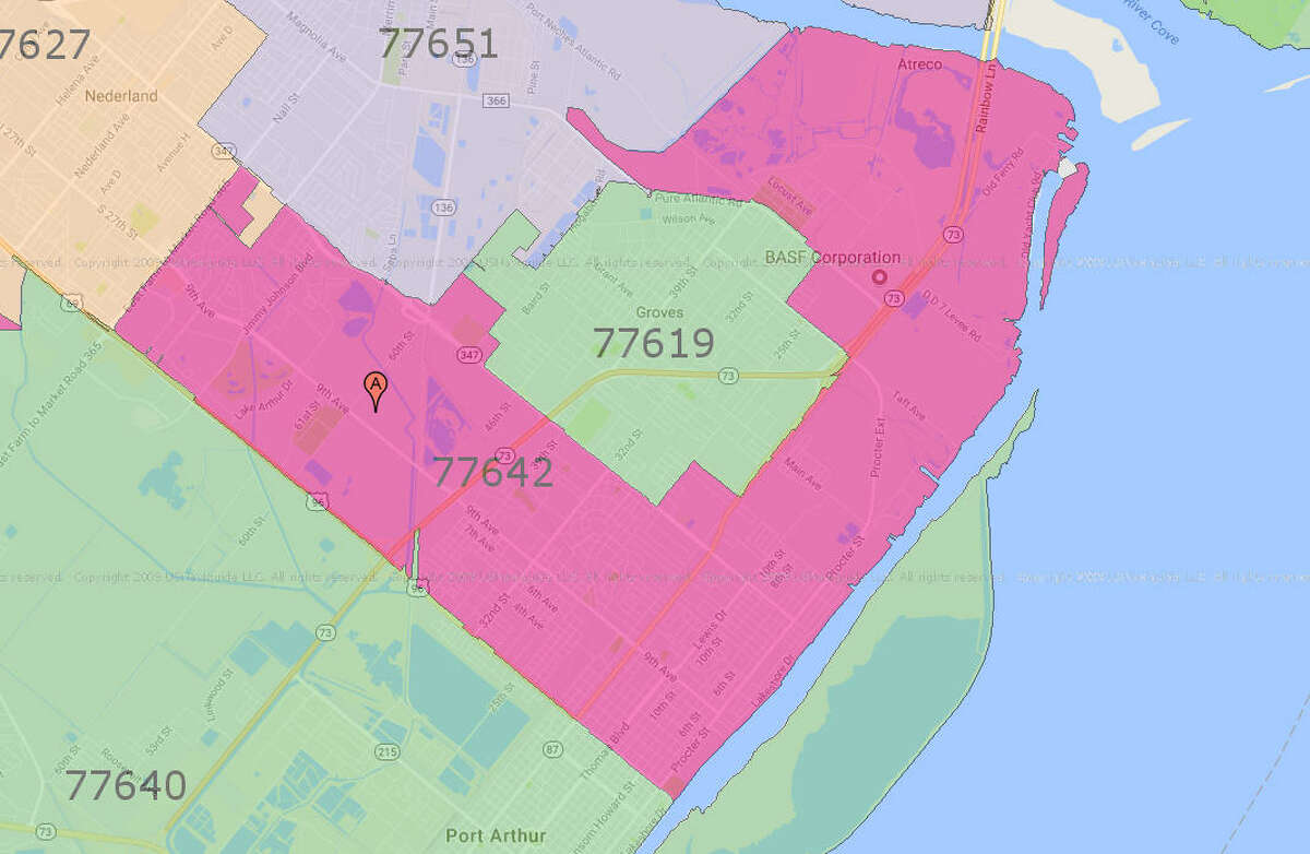 20.Houston - Trinity Gardens/East Little York (77016) County: Harris Number of applications: 6,960