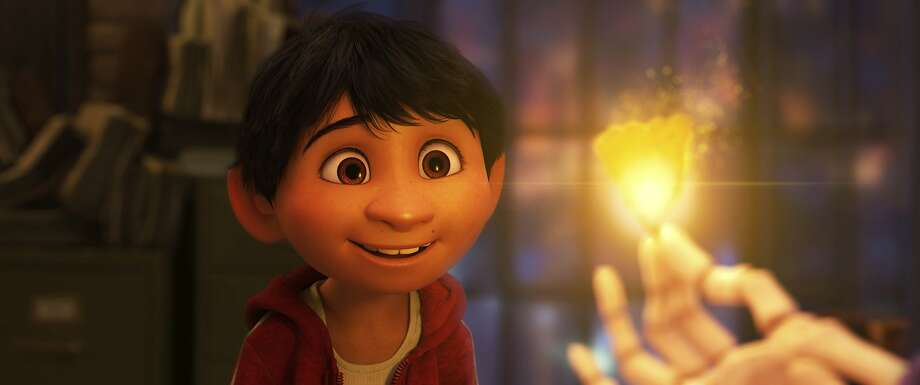 "In ""Coco"" the lead character Miguel is voiced by Anthony Gonzalez, who says of performing for Disney-Pixar, ""Being there at this age is a wonderful, very beautiful experience."" Photo: Pixar, Associated Press"