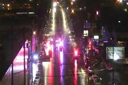 Police closed 1st Avenue South after a fatal bike/car collision Tuesday morning.