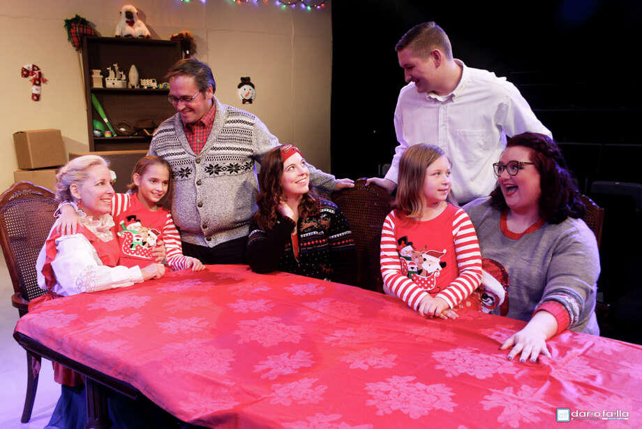 """""""A Little   Christmas Spirit"""" by Pat Cook, is being presented by Pasadena Little Theatre Dec. 1-17. The production, which features local actors, has not been performed in the area, director Julie Owen says. Photo: Pasadena Little Theatre"""