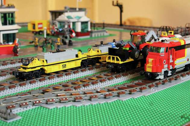 Part of the new Lego display at the Wilton Historical Society's annual Great Trains Holiday Exhibit, from Nov. 24 through Jan. 15, 2018.