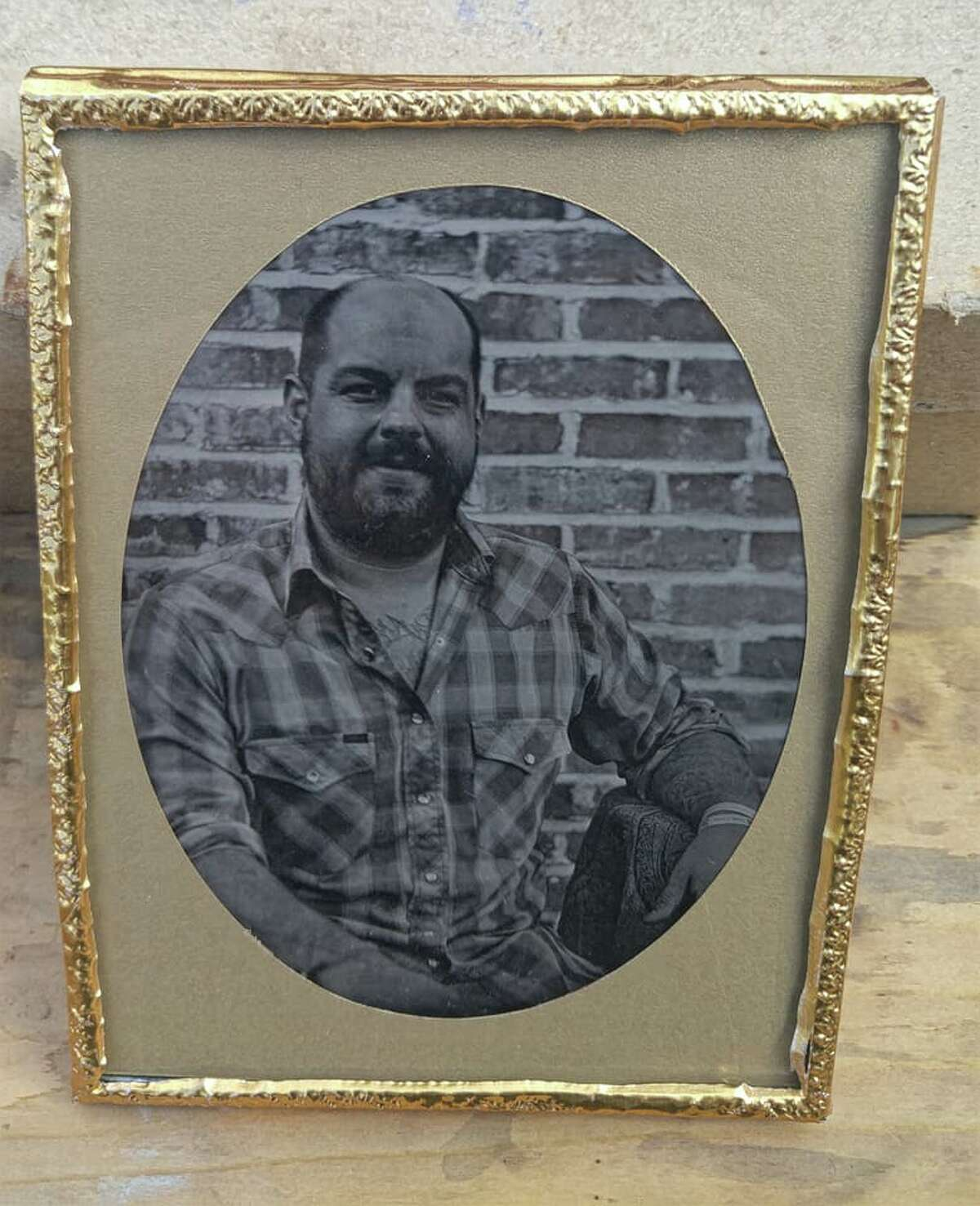 Cody Mobley is a Menard County resident and Texas Historical Commission staffer who says he is one of only a handful of Texans currently practicing the wet plate photographic method. It was just two years ago that he built his first camera and began teaching himself the process. Mobley is for hire, driving around Texas with his wet collodion process to transport subjects back roughly 160 years. Mobley's process was invented by Englishman Frederick Scott Archer around 1851.