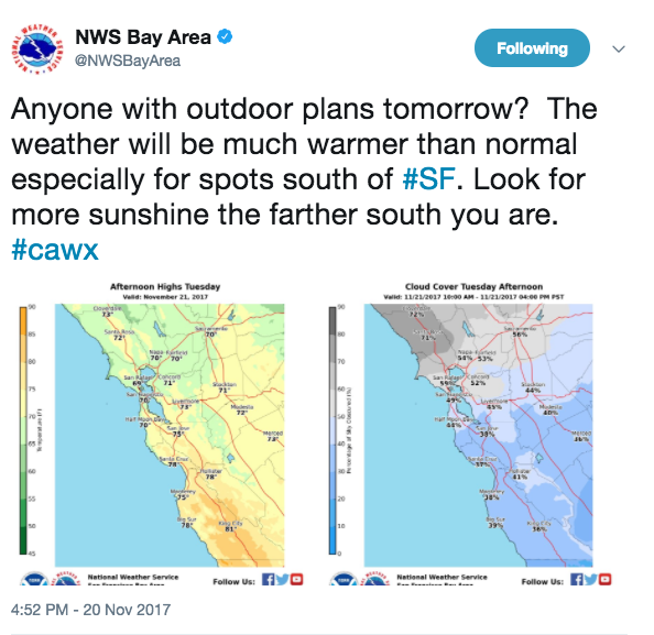 Bay Area Warming Up And Flirting With Record-breaking