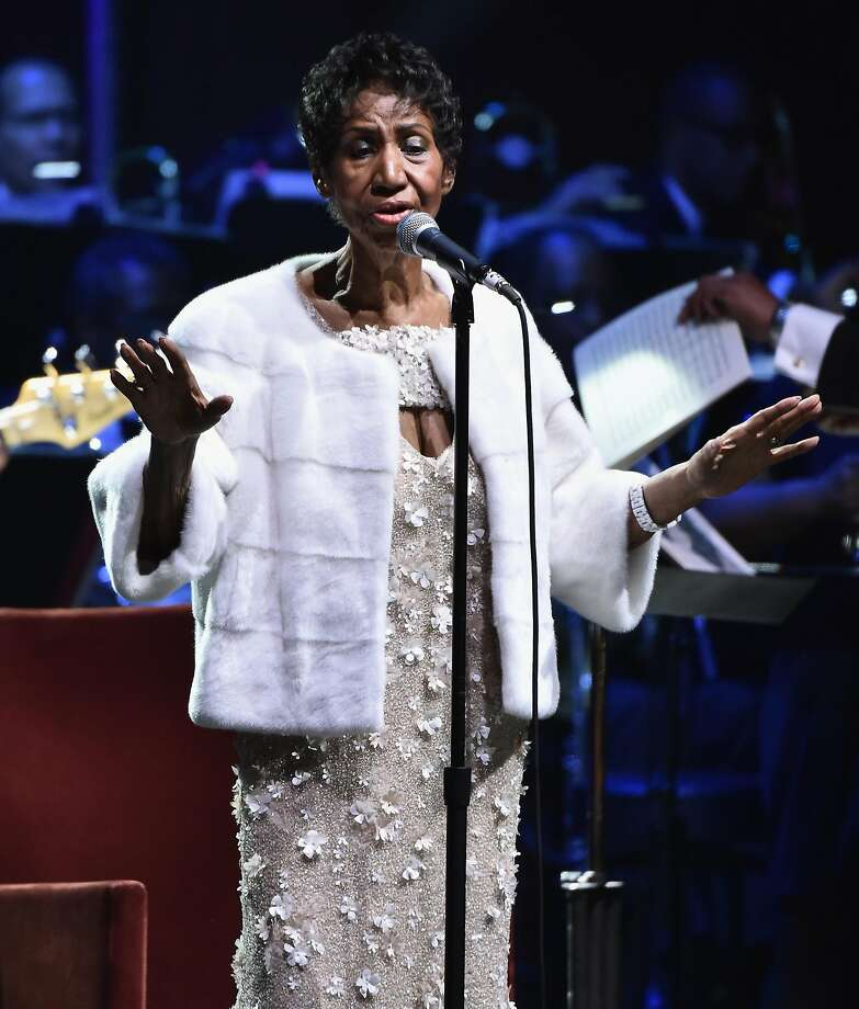 NEW YORK, NY - NOVEMBER 07:  Aretha Franklin performs onstage at the Elton John AIDS Foundation Commemorates Its 25th Year And Honors Founder Sir Elton John During New York Fall Gala at Cathedral of St. John the Divine on November 7, 2017 in New York City.  (Photo by Theo Wargo/Getty Images) Photo: Theo Wargo, Getty Images