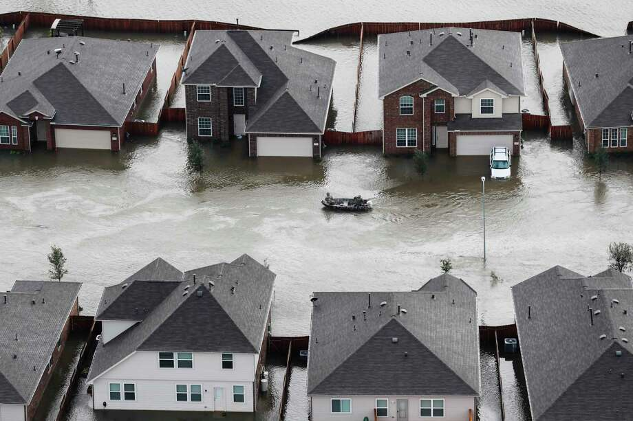 Stories about Hurricane Harvey dominated the list of most-read Gray Matters stories in 2017. Photo: Brett Coomer, Staff / © 2017 Houston Chronicle