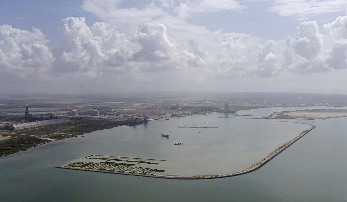 Work is being done across the Corpus Christi Bay where major export and production facilities are either being built or expanded. Cheniere is constructing a large natural gas export facility, while Occidental Petroleum is already operating a 300,000 barrel per day crude oil export terminal.