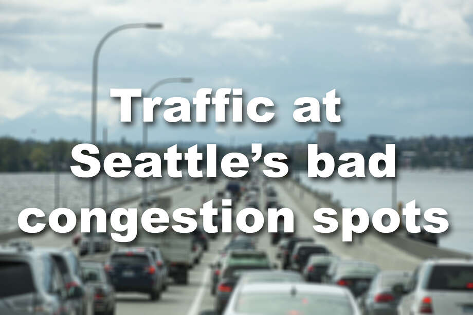 What does traffic look like at the most jam-packed parts of the city? Click through the slideshow to see. Photo: GRANT HINDSLEY/SEATTLEPI.COM
