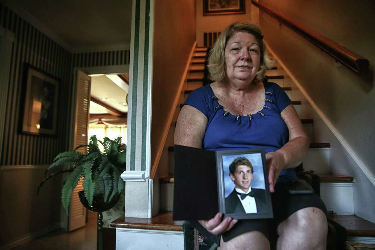 JoDell Pasek said her son, Andrew, was kind and always looking out for others. He died while trying to rescue a cat from their flooded west Houston neighborhood.JoDell Pasek said her son, Andrew, was kind and always looking out for others. He died while trying to rescue a cat from their flooded west Houston neighborhood.