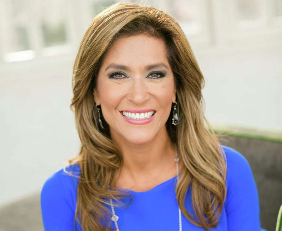 After 19 years of reporting the San Antonio news, Sarah Lucero flashed her last radiant smile as KENS-TV anchorwoman during Tuesday's 10 p.m. newscast. Photo: Courtesy Of KENS 5 /Bend The Light Photography /