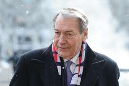 FILE - NOVEMBER 20, 2017: It was reported Monday that CBS News has suspended veteran broadcaster Charlie Rose following a Washington Post report detailing multiple accusations of inappropriate conduct. PBS will also suspend distribution of Roses nightly talk show Charlie Rose. NEW YORK, NY - FEBRUARY 17:  Charlie Rose attends Bob Simon Memorial Service at the Metropolitan Opera House  on February 17, 2015 in New York City.  (Photo by Rommel Demano/Getty Images)