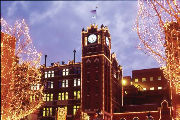 The Anheuser-Busch Brewery in St. Louis will conduct its 32nd Annual Brewery Lights holiday celebration from Nov. 16 through Dec. 30. Admission is free.