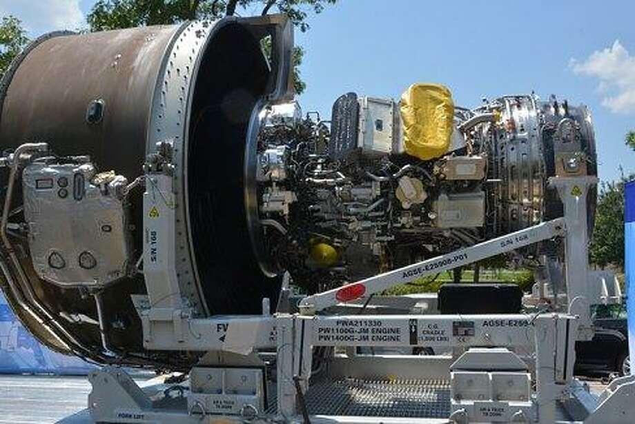 Pratt & Whitney's new engine Photo: Ctnewsjunkie File Photo