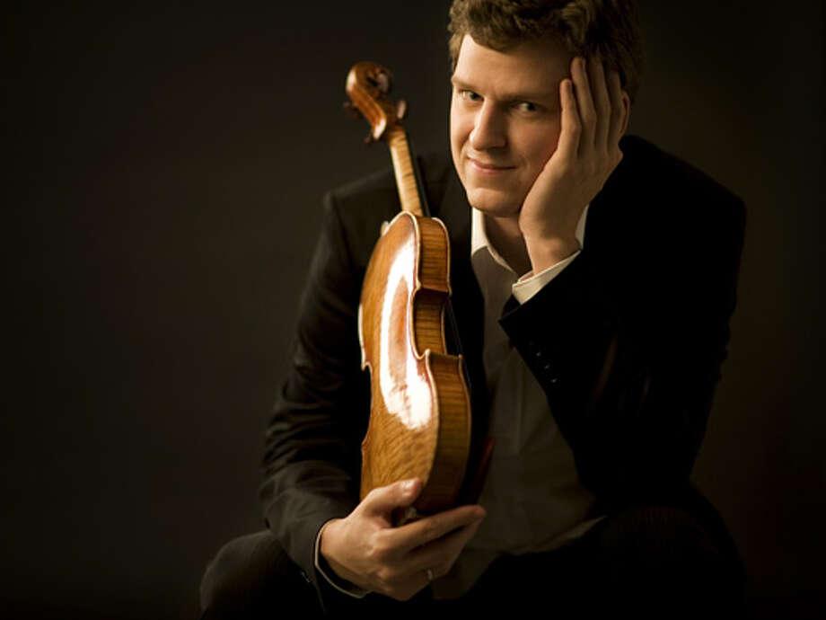 Violinist James Ehnes performs April 2 at Herbst Theatre Photo: Benjamin Ealovega / ONLINE_YES