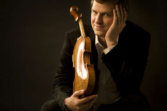 Violinist James Ehnes performs April 2 at Herbst Theatre