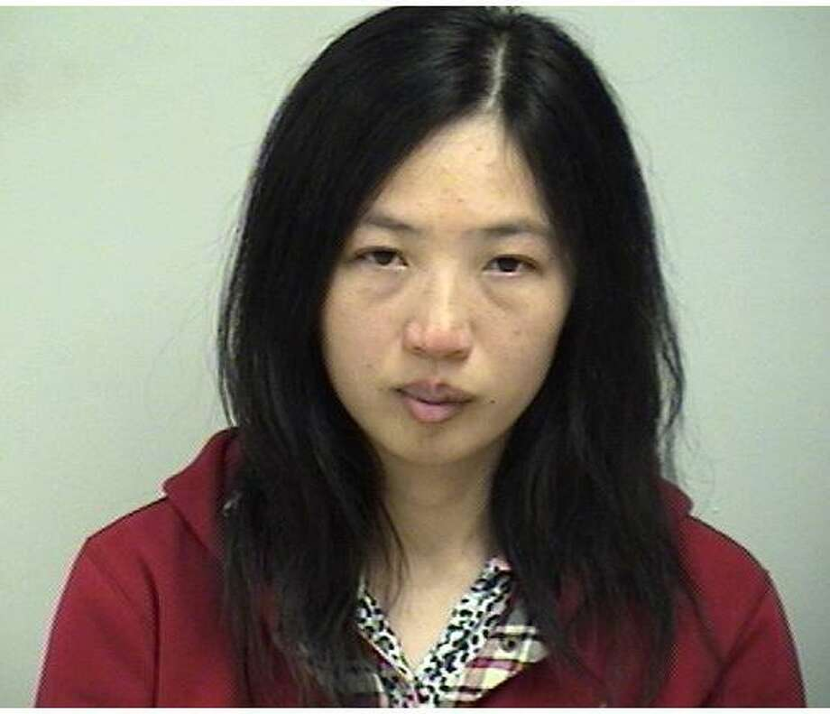 Ting Lu, a Westport resident, was twice charged with third degree assault after dragging a man and assaulting him in two separate instance in Nov. Photo: Contributed Photo
