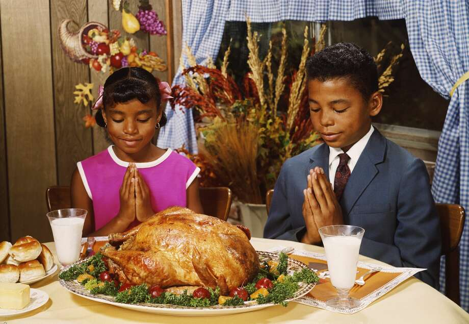 There's a core part of the Thanksgiving meal that almost everyone embraces. But advertisers have shaped it as much as family tradition. Photo: FPG / Getty Images