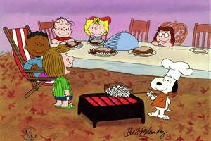 "From ""A Charlie Brown Thanksgiving."""