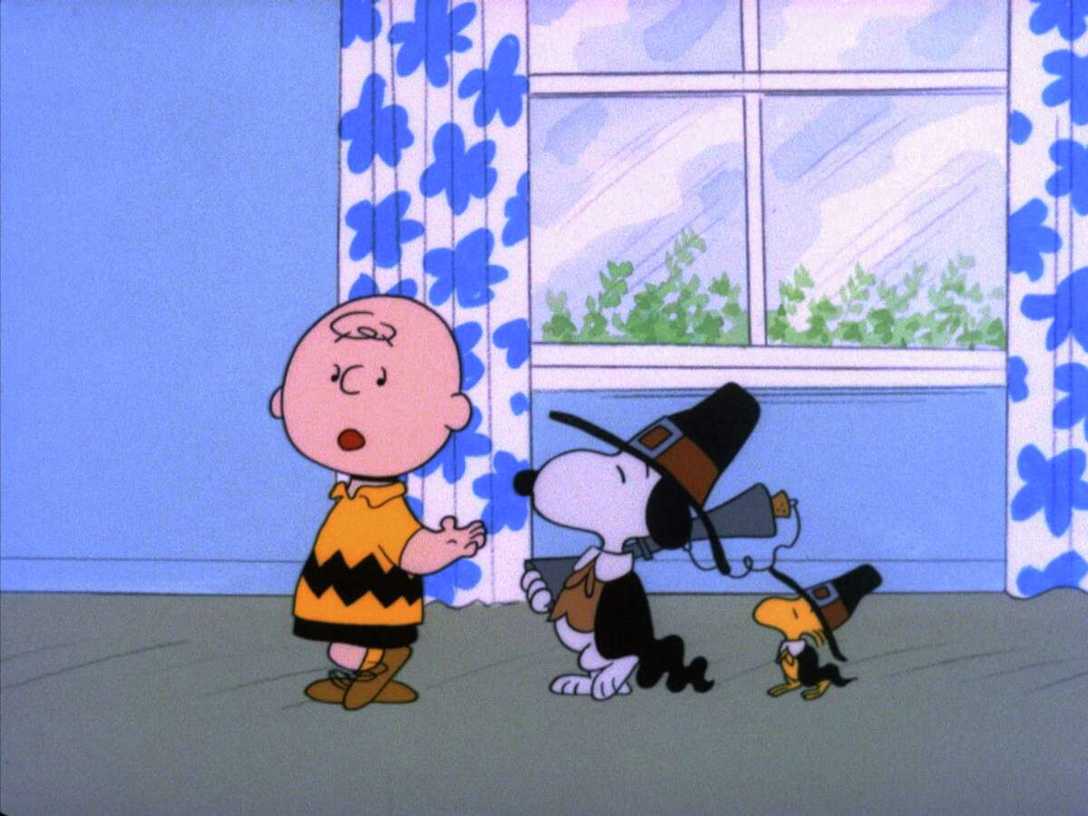 CB_THANKS005 - ``A CHARLIE BROWN THANKSGIVING'' - With Thanksgiving coming up, Charlie Brown wants to do something special for the gang. However, the dinner he arranges is a disaster when the caterers, Snoopy and Woodstock, prepare toast and popcorn as the main dish. Humiliated, it will take all of Marcie's persuasive powers to salvage the holiday for Charlie Brown in ``A Charlie Brown Thanksgiving,'' airing on Friday, November 16 (8:00-8:30 p.m., ET) on the ABC Television Network. HOUCHRON CAPTION (11/22/2001): None. HOUCHRON CAPTION (11/21/2002): SEE THE WORK OF ``PEANUTS'' DIRECTOR AND ANIMATOR BILL MELENDEZ (NOT PICTURED), STARTING SATURDAY. sneak preview.