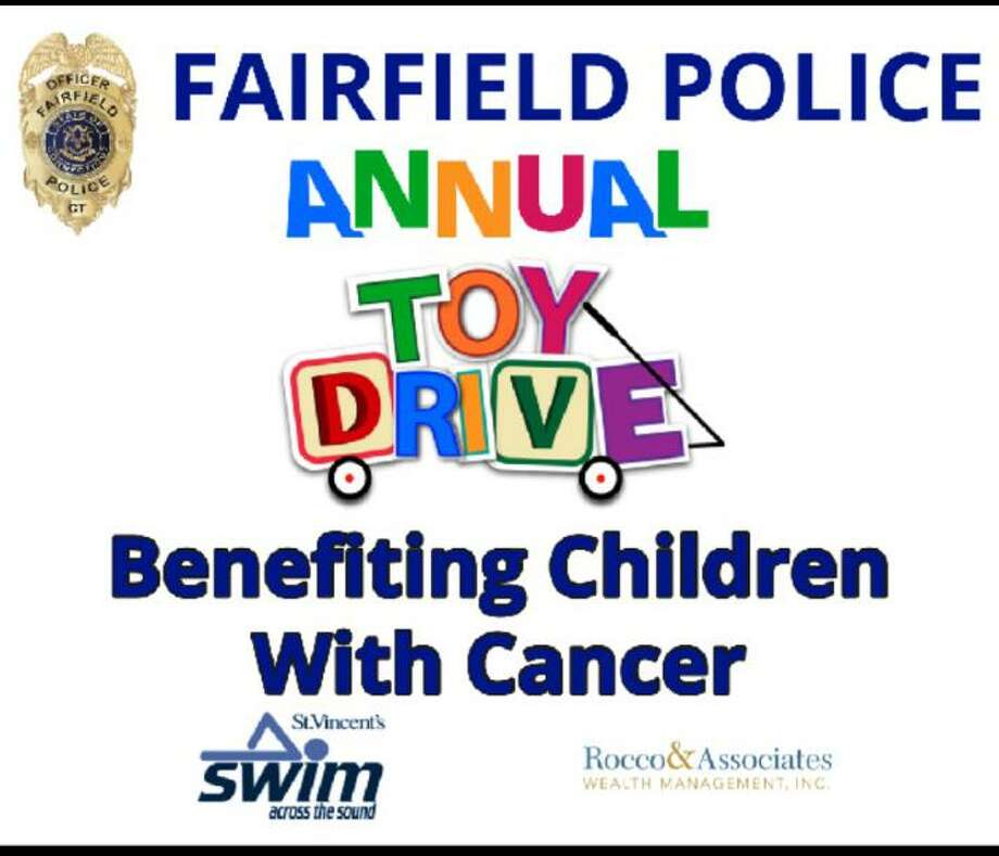 The Fairfield Police Department is conducting its annual toy drive. Fairfield,CT. 11/21/17 Photo: Contributed / Contributed Photo / Fairfield Citizen