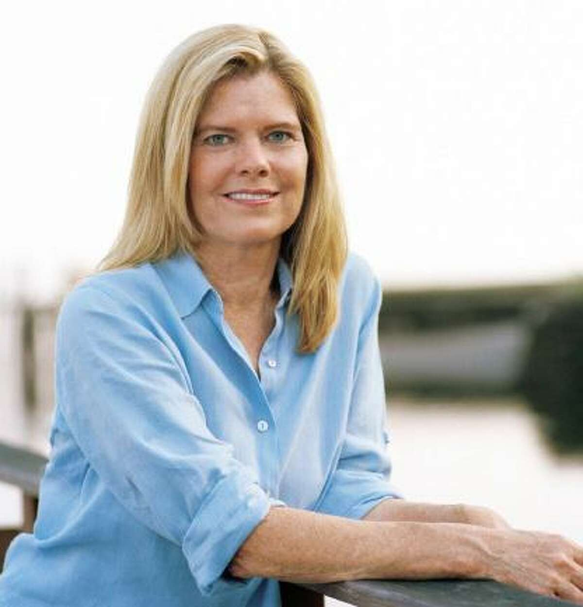 """Author Mary Simses, who grew up in Darien, based the setting of her second novel, """"The Rules of Love and Grammar"""" on her hometown."""