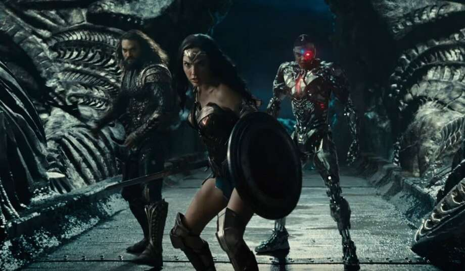 Justice League brings together Batman, Wonder Woman, Aquaman, The Flash and Cyborg for a big battle against a world-ending evil.