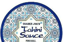 Yorgo's Foods Inc. of Manchester N.H., is recalling all Greek-style food products it manufactures as they have the potential to be contaminated with Listeria monocytogenes. Recalled products include Trader Joe's Tahini Sauce. Photo courtesy of the U.S. Food and Drug Administration.