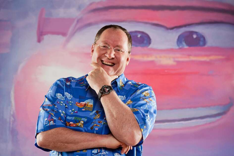 "John Lasseter wears the new ""Cars 2"" shirt at Pixar's headquaters in Emeryville, Ca.John Lasseter wears the new ""Cars 2"" shirt at Pixar's headquarters in Emeryville, Ca.  Pixar's John Lasseter wears the new ""Cars 2"" shirt on Wednesday, April 27, 2011 in Emeryville, Calif.    **MANDATORY CREDIT FOR PHOTOG AND SF CHRONICLE/NO SALES/MAGS OUT/TV OUT/INTERNET: AP MEMBER NEWSPAPERS ONLY**"