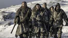 "Kristofer Hivju as Tormund Giantsbane, Kit Harington as Jon Snow, Iain Glen as Jorah Mormont and Joe Dempsie as Gendry on ""Game of Thrones."" Behzad Mesri, 29, an alleged member of an Iran-based group of hackers called the Turk Black Hat security team, was charged with breaking into HBO's computer servers and trying to extort $6 million in bitcoin from the cable network."