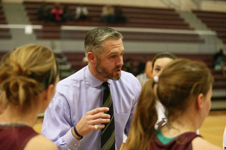 Trinity coach Cameron Hill was named 2017's Coach of the Year by the Texas Association of Basketball Coaches after leading the team to a 28-2 record. This year he has tried to elevate the program by playing elite competition. Photo: Trinity University / Courtesy Photo