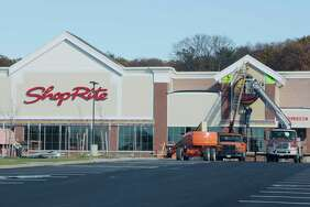 A view of the ShopRite store under construction at Van Rensselaer Square in North Greenbush.  Keep clicking for more stores that have opened or closed recently in the Capital Region.