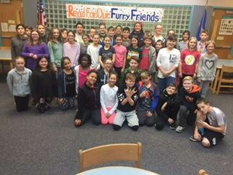 Students raised money for animals affected by Hurricane Harvey Photo: Contributed Photo
