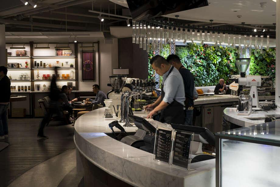 Peet's Coffee Shanghai, China Flagship Coffeebar situated at 9 Donghu Lu. Photo: PRNewsfoto/Peet's Coffee