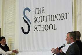 The new name for Eagle Hill Southport School was unveiled at an afternoon assembly Monday. Fairfield, CT. 11/20/17