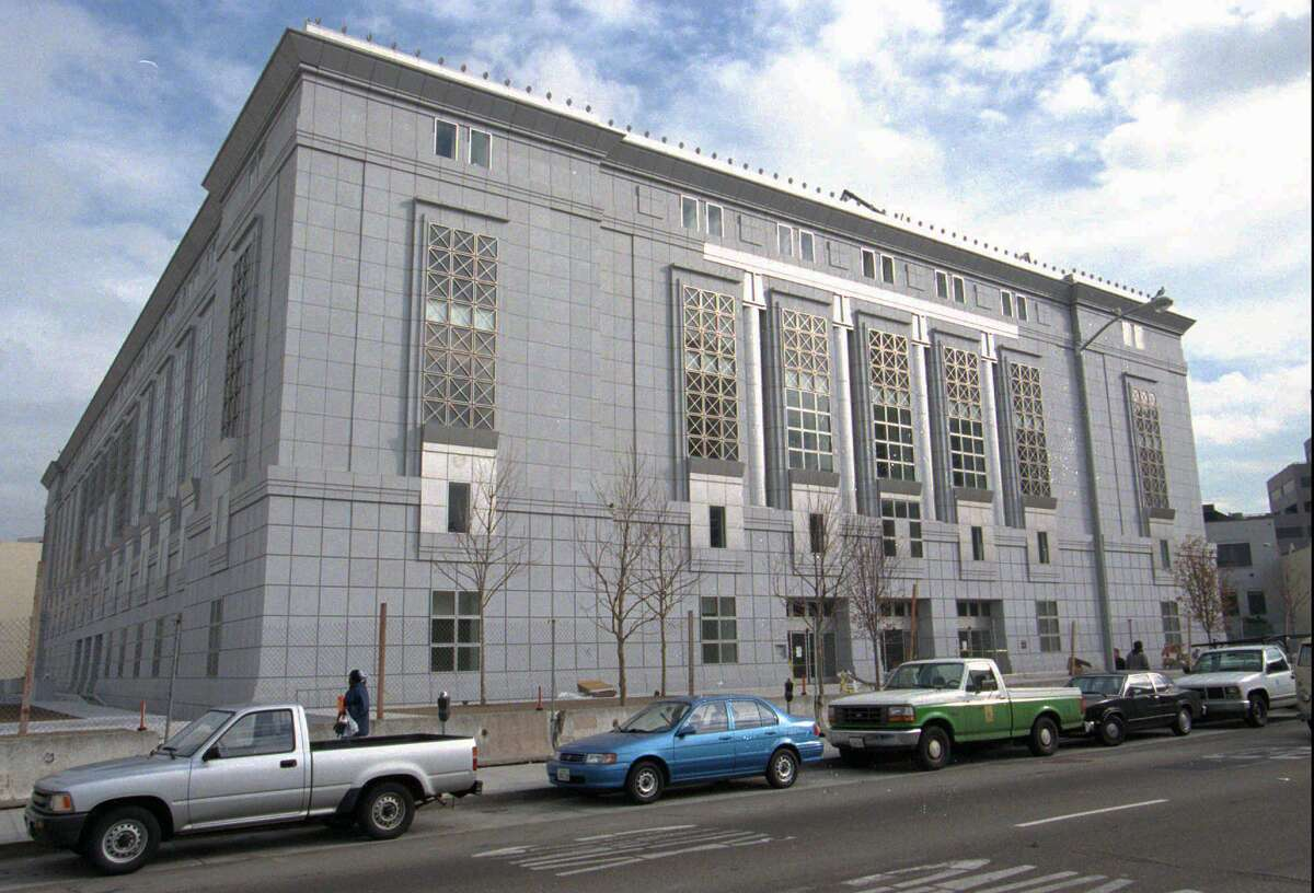 Pictured here is the San Francisco Public Library main branch on Larkin Street.