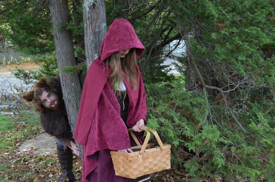 "The student theater group at Kidz Konnection in Clinton will present Sondheim's ""Into the Woods"" Dec. 9-10. Photo: Contributed Photos/Not For Resale"