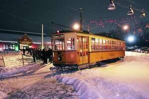 "The Connecticut Trolley Museum presents Winterfest 2017 and ""The Tunnel of Lights"" beginning Friday, Nov. 24."