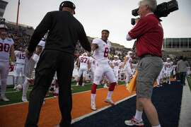 """Stanford head coach David Shaw calls defensive back Justin Reid (8) """"one of the best players in America."""""""