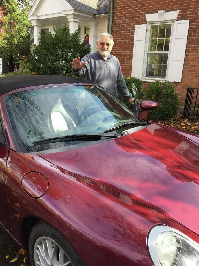 Kent Memorial Library has announced Lou Benedetto of Norwalk, above, as the winner of this years car raffle with ticket #1379. He won a 1998 Porsche Boxster. Benedetto bought one ticket for $20 while visiting Kent one day this summer. He and his wife, Annette, frequent the town of Kent once or twice a year as a day trip from Norwalk. They usually have lunch at the Fife n Drum Restaurant and then wander around town. One of her favorite stops is the librarys outdoor summer book sale. While browsing the book sale, Benedetto thought that he might as well buy a ticket for the car and help support the library. Photo: Courtesy Of Kent Memorial Library / The News-Times Contributed