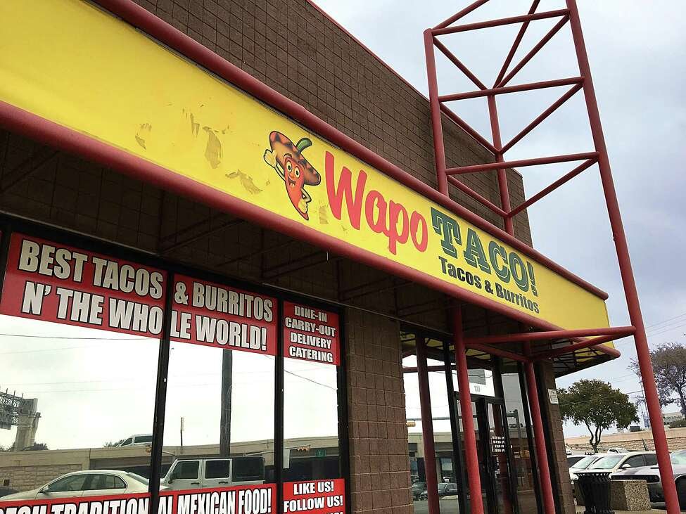 Wapo Taco: 4263 N.W. Loop 410 Date: 04/09/2019 Score: 69 Highlights: Raw eggs stored above ready to eat foods (guajillo and chorizo). Employee handling prepared foods with ungloved hands and no use of protective barrier. Cold water faucet from hand sink in kitchen leaking. Packaged flan made at establishment placed in refrigeration unit for consumer self serve not labeled.