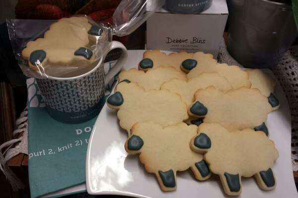 Of course, Small Business Saturday would not be complete without In Sheeps Clothing's signature sheepy sugar cookies made by local First Act Bakery.