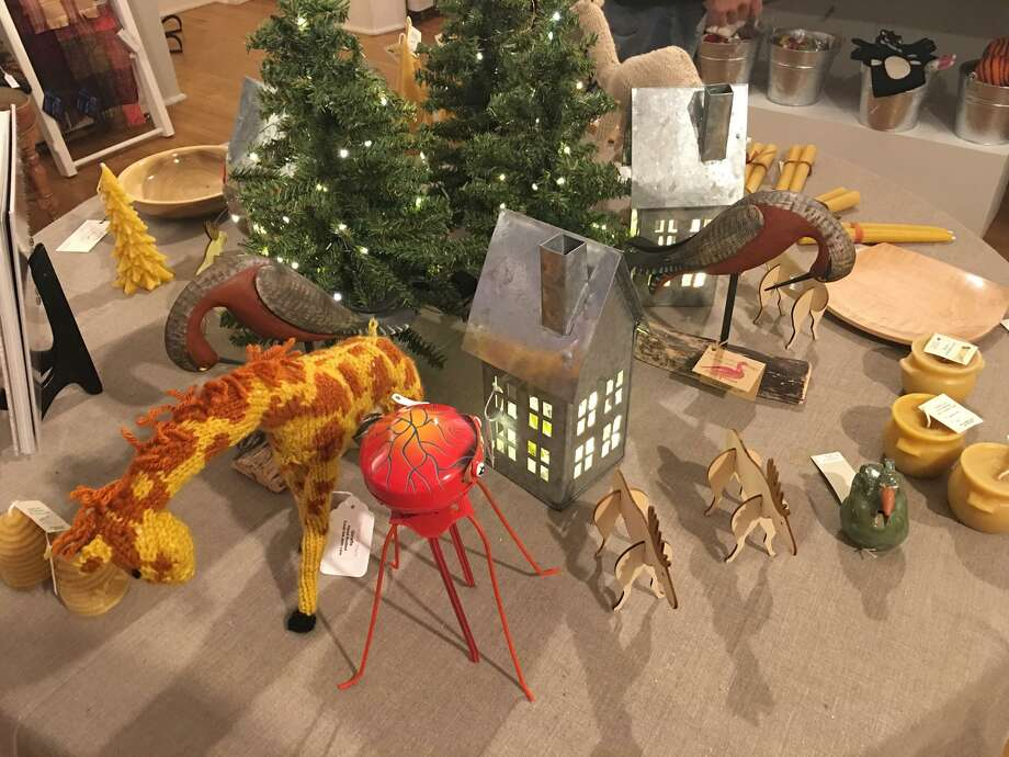Whimsical gifts created by members of the Washington Art Association are available for purchase during the group's art fair. Photo: Contributed Photo /Not For Resale