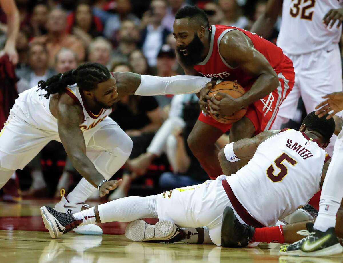 No matter how many defenders teams throw at James Harden, the Rockets guard typically has a solution for that and other tactics.