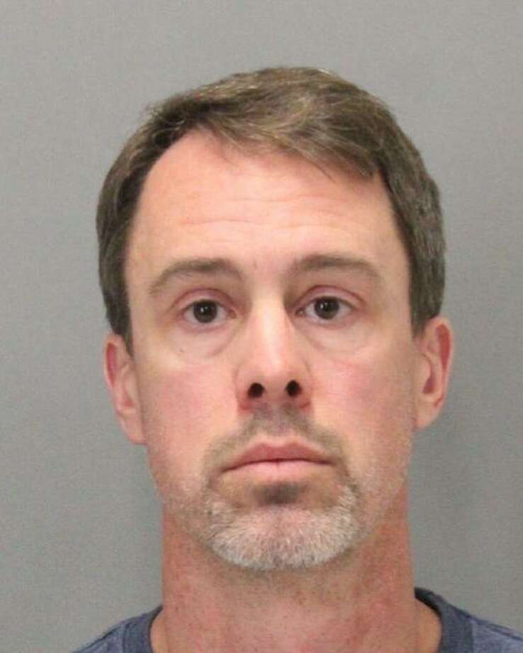 San Jose teacher Chad Zitzner was arrested on suspicion of lewd and lascivious acts with a 12-year-old girl while she was attending a math camp at which he taught, police said.