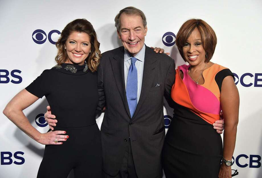 Charlie Rose has been fired by CBS in the wake of sexual harassment allegations by 8 women. NEW YORK, NY - MAY 17:  Norah O'Donnell, Charlie Rose and Gayle King attend the 2017 CBS Upfront on May 17, 2017 in New York City.  (Photo by Theo Wargo/Getty Images) ORG XMIT: 700033295 Photo: Theo Wargo / 2017 Getty Images