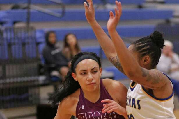 Tantashea Giger had 21 of the Dustdevils' 43 points on Tuesday evening in a 46-43 loss at Texas A&M-Kingsville